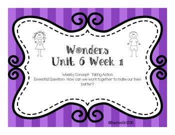 Wonders Unit 6 Week 1