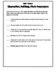 Wonders Units 1-6, Grade 4 Graphic Organizers & Written Responses