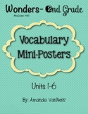 Wonders Vocabulary Mini-Posters