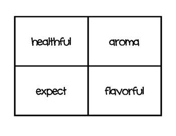 Wonders Vocabulary Third Grade Units 4-6