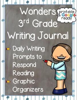 Wonders Writing Journal: Third Grade Unit 6