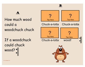 Woodchuck - for Composition, Rhythm decoding, and Form