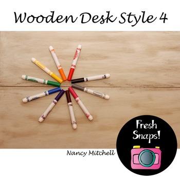 Wooden Desk Style 4