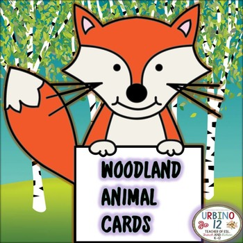 Woodland Animal Cards