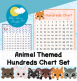 Woodland Animal Themed Hundreds Chart Set