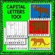 Woodland Animal Alphabet Puzzles Literacy Center