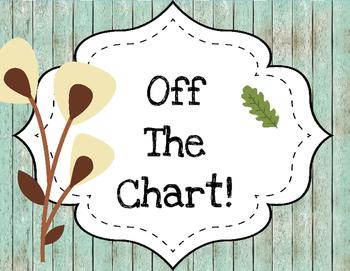 Woodland Animals Clip Chart