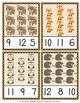 Woodland Animals Count and Clip Cards Numbers 1-12