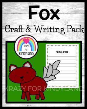 Woodland Animals: Fox Craft and Writing