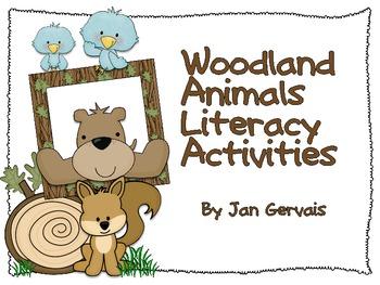 Woodland Animals Literacy Activities