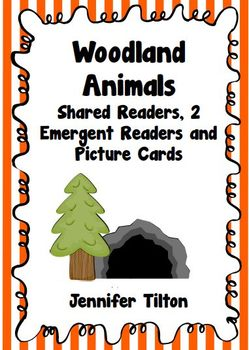 Woodland Animals Shared Reader, 2 Emergent Readers and Pic