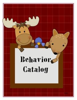 Free and Easy Behavior Rewards--Woodland Themed