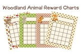 Woodland Forest Animal Incentive Reward Charts - Fox inclu