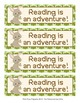 Woodland Forest Animals Bookmarks - Fox Included