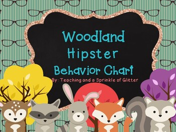 Behavior Chart Woodland/ Hipster