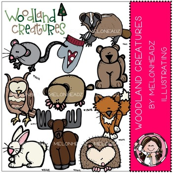 Woodland creatures by Melonheadz COMBO PACK