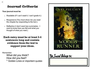Woodsrunner Student Journal