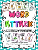 Polka Dot Word Attack Posters