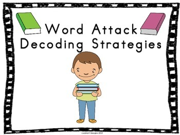 Word Attack Reading Strategies Posters