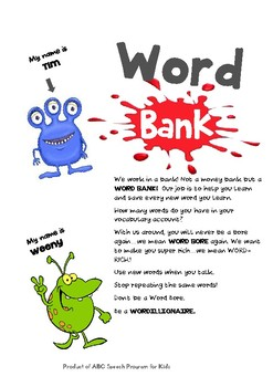 Word Bank (Vocabulary Building)