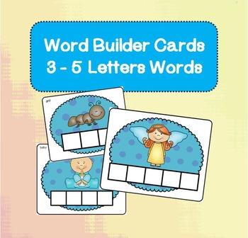 Word Builder Cards BUNDLE