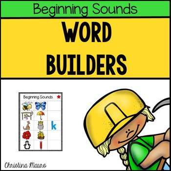 Word Builders (Beginning Sounds)