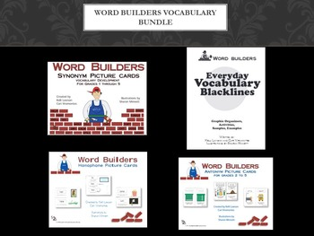 Word Builders Vocabulary Bundle