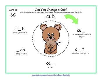 Word Building Mats GR 1-3 (Word Ladder): Spelling, Rhyming