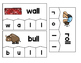 Word Building Puzzles: Double Consonants Set