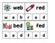Word Building Puzzles: Short E CVC Set