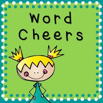 Word Cheers (***FREEBIE***)