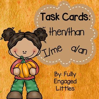 Word Choice Fall Task Cards