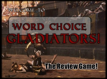 Word-Choice Gladiators - Fun Review Game