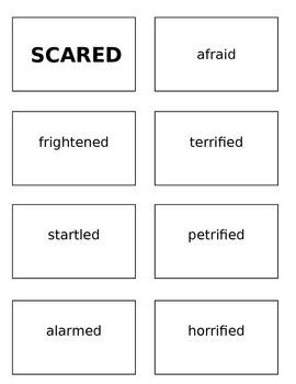 Word Choice Shelf Work
