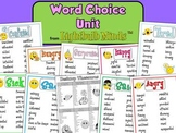 Word Choice Unit from Lightbulb Minds