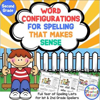Word Configurations-Worksheets for Spelling Lists That Mak