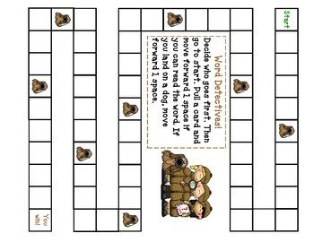 Word Detective High Frequency word game