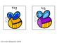 Word Endings Discrimination Sort: Little Bugs -ag, -eg, -i