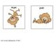 Word Endings Discrimination Sort: Monkeys Go Bananas -an,