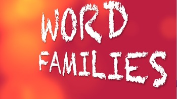 Word Families ALE