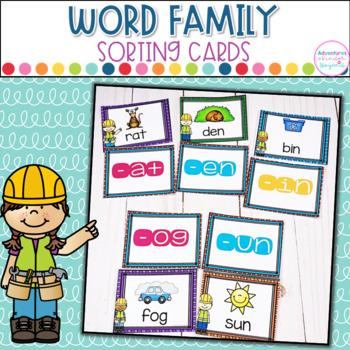 Word Families- Sort It