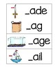 Word Families Cards