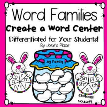 Word Families Center