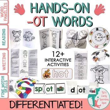 Word Families: Hands-On -OT Activities (Interactive and Di