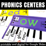 Word Families Activities: Pianos (Bundle)