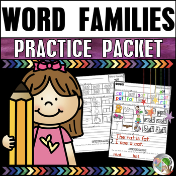 Word Families Practice Packet