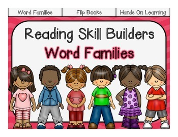Reading Skill Builders: Word Families