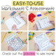 Word Family Activities for Short U
