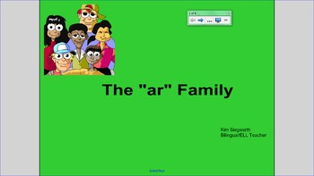 "Word Families:  The ""ar"" Family"