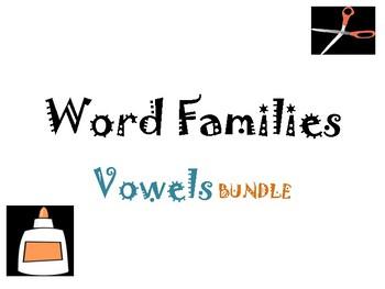 Word Families Vowel Bundle